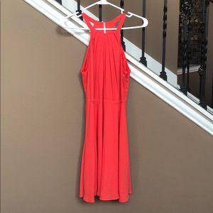 Express sz 4 coral dress